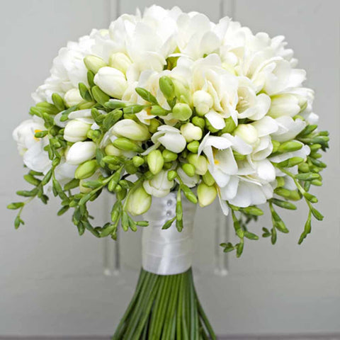 A Sweetly Scented Freesia Bouquet Amanda Austin Flowers