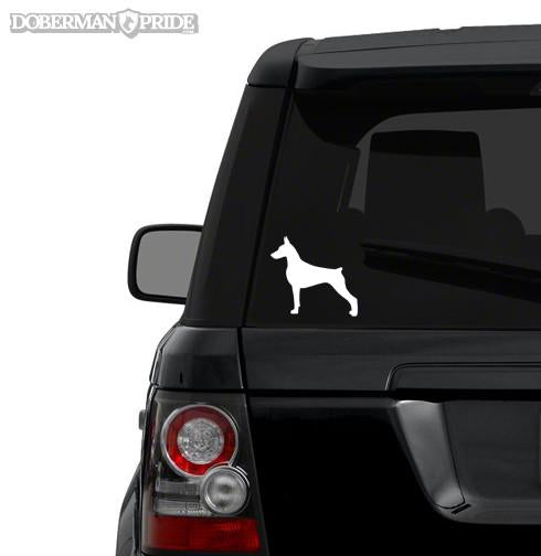 Silhouette Decal - Cropped