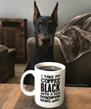 Dobe Hairs Coffee Mug