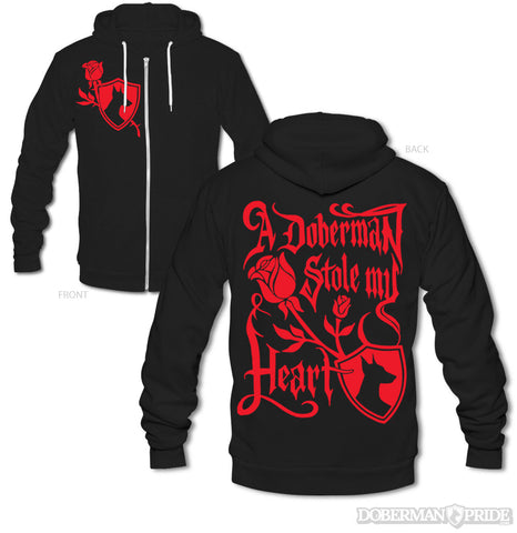 Heart Thief  Zip-up