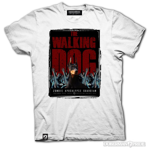 Walking Dog Mens Tee, XXL