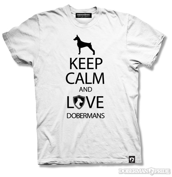 Keep Calm Mens Tee, XL