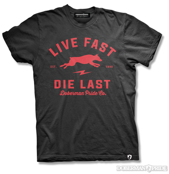 Live Fast Mens Tee