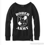Dober Army Womens Sweatshirt