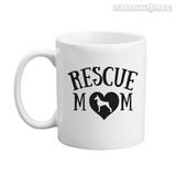 Rescue Mom Coffee Mug