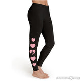 Follow Your Heart Womens Leggings