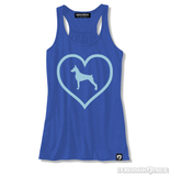 Heart On Womens Tank