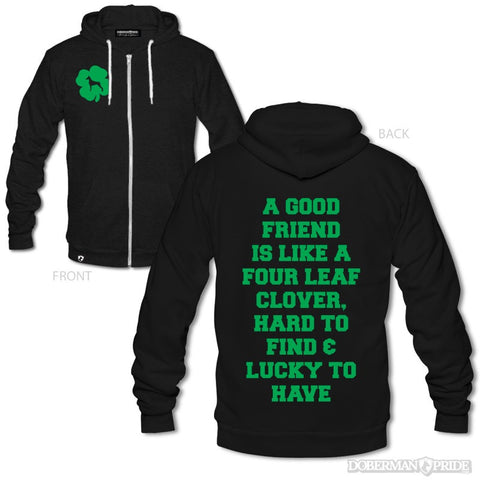 Lucky Unisex Zip-up