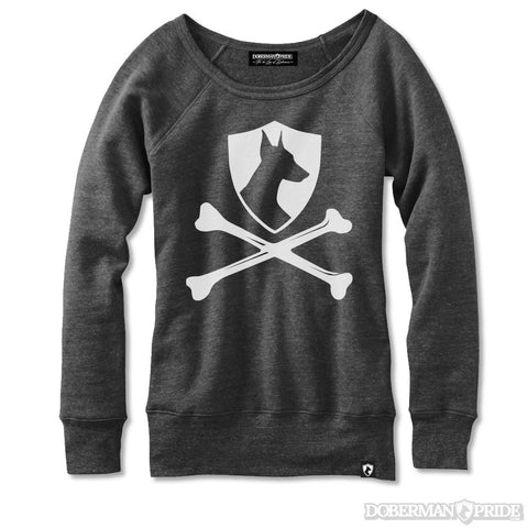 Cross Bones Womens Sweatshirt