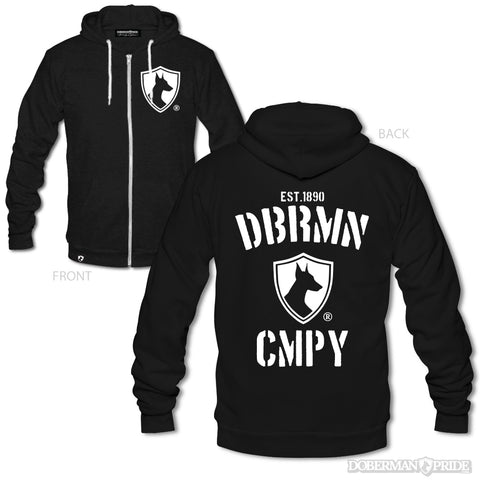 Doberman Company Zip-up