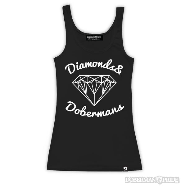 Diamonds Womens Fitted Tank