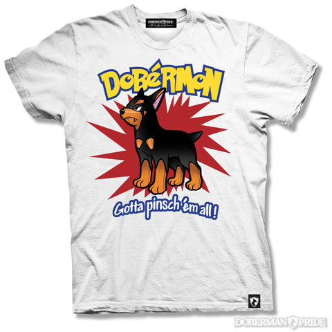 Dobermon Mens Tee, Small