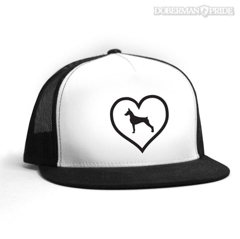 Heart On Trucker Hat