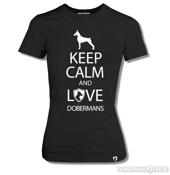Keep Calm Womens Tee
