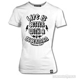 Life is Better Womens Tee
