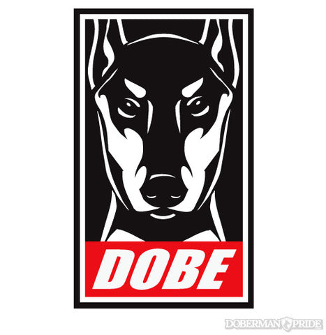 Obey Dobe Sticker