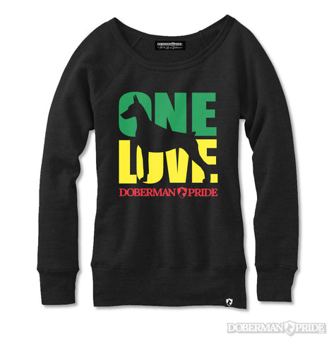 One Love Womens Sweatshirt