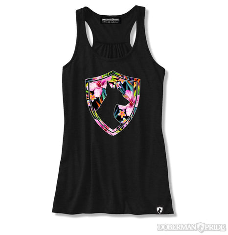 Tropical Crest Womens Tank
