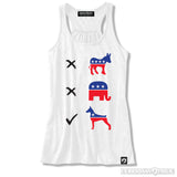 Vote Doberman Womens Tank