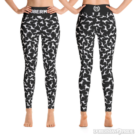 All Over Womens Yoga Leggings, Small