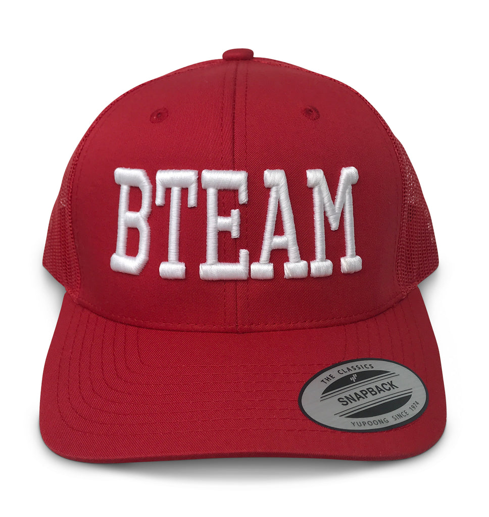 BTEAM Snapback Hat - Red
