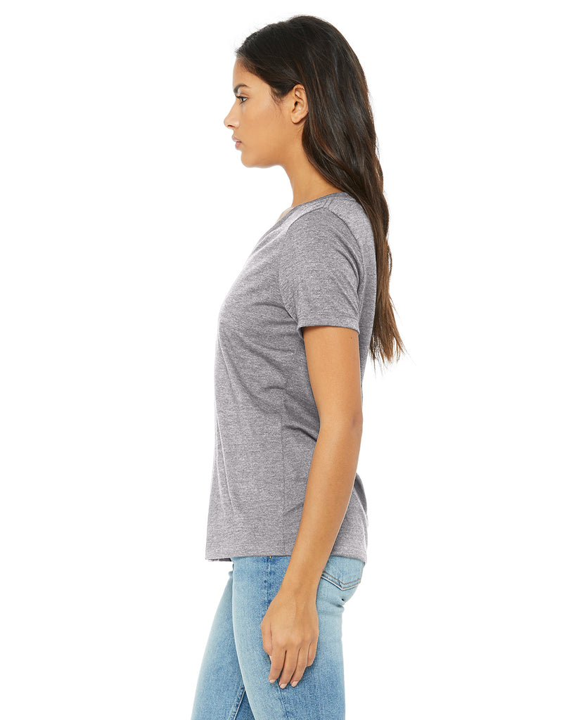 COOL AUNT V-Neck T-Shirt - Grey