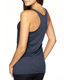 BOY MOM Women's Racerback Tank - Navy