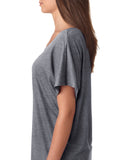 #PIMPINJOY Women's Dolman T-Shirt - Heather Grey
