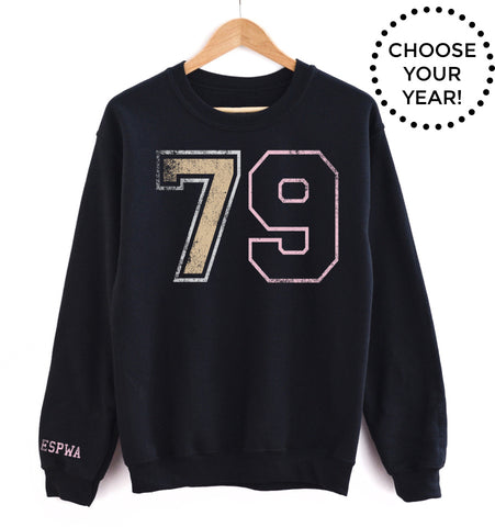 70's Born Year® Sweatshirt - Choose Your Year! (70-79)