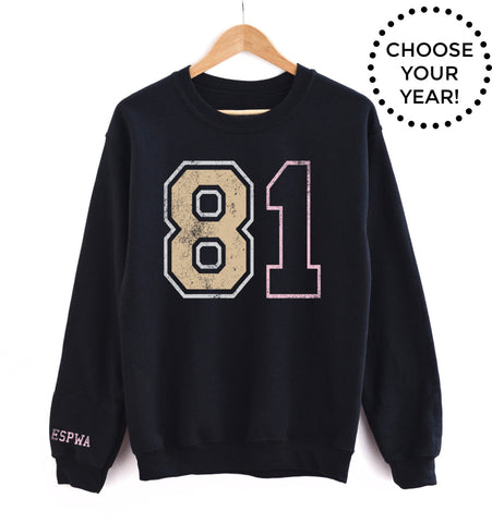 80's Born Year® Sweatshirt - Choose Your Year! (80-89)