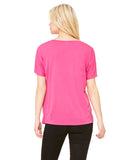 'CHOOSE JOY' Women's Slouchy V-Neck - Pink