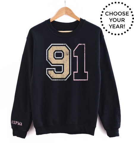 90's Born Year® Sweatshirt - Choose Your Year! (90-99)