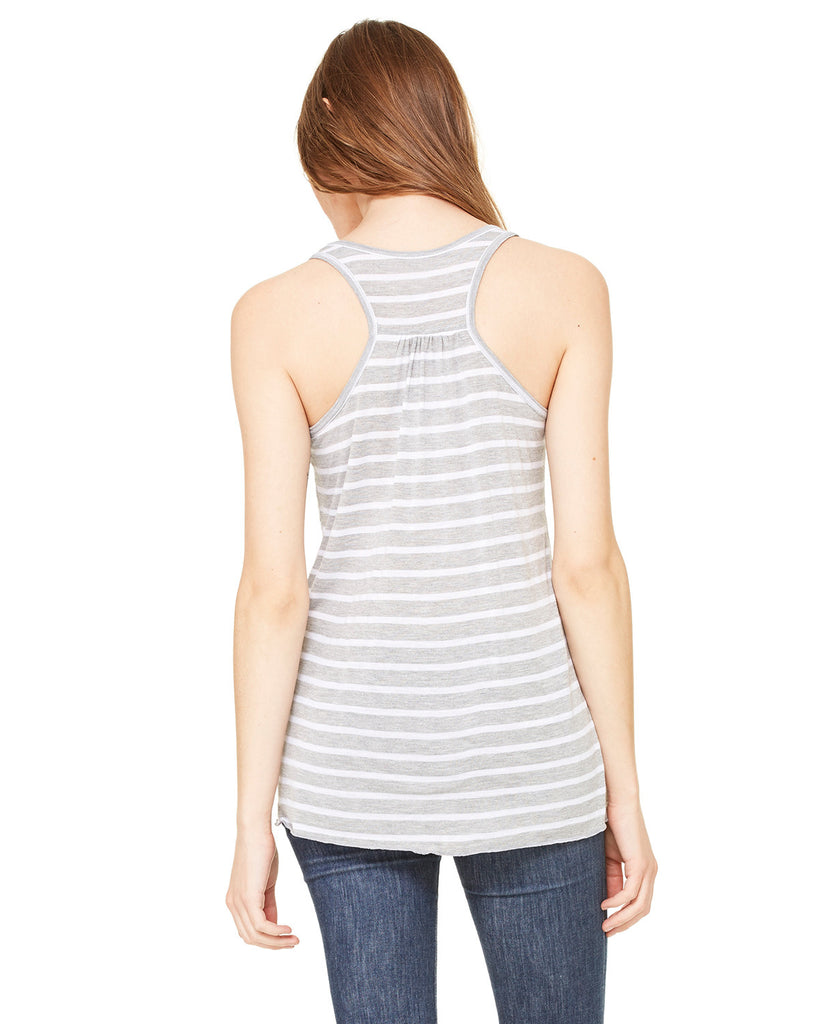 #PIMPINJOY Women's Tank - Grey Striped
