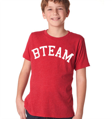 Kids BTEAM T-Shirt - Red