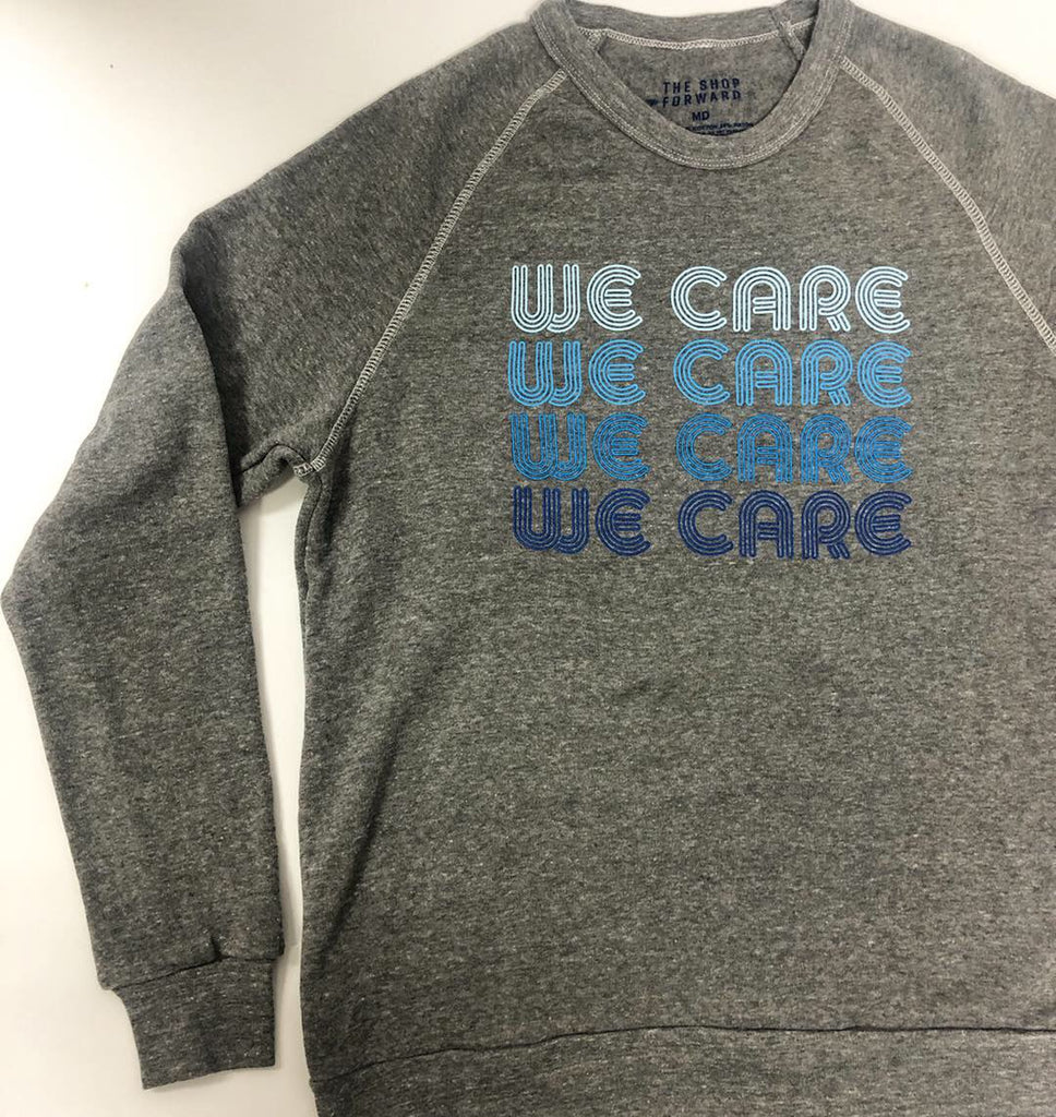 WE CARE Unisex Pullover Supporting Foster Care