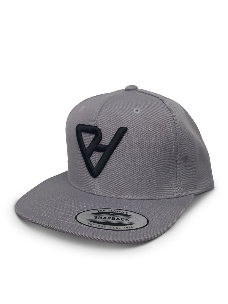 ProtectHer Flat Bill Hat - Light Grey & Black