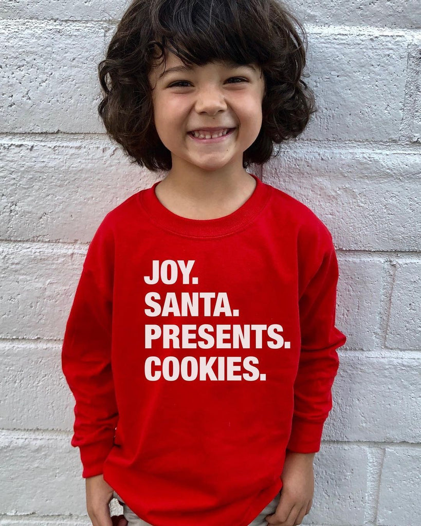 Kids 4 THINGS® Christmas Long Sleeve Tee