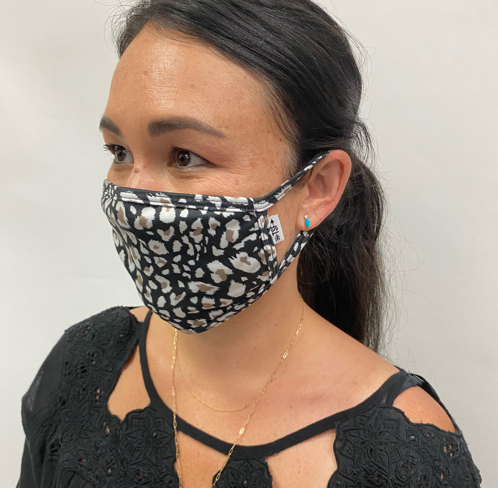 Cloth Face Mask - Single (choose print)