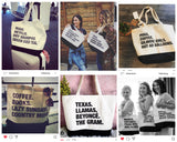 '4 THINGS' Personalized Tote Bag (Custom Pre-Order)