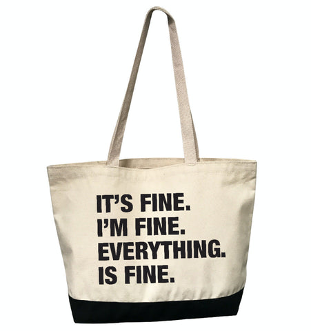 4 Things® 'I'M FINE' Tote