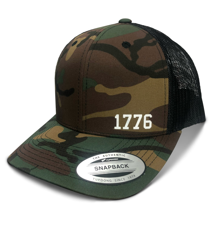 1776 America Born Year™ Hat - Camo