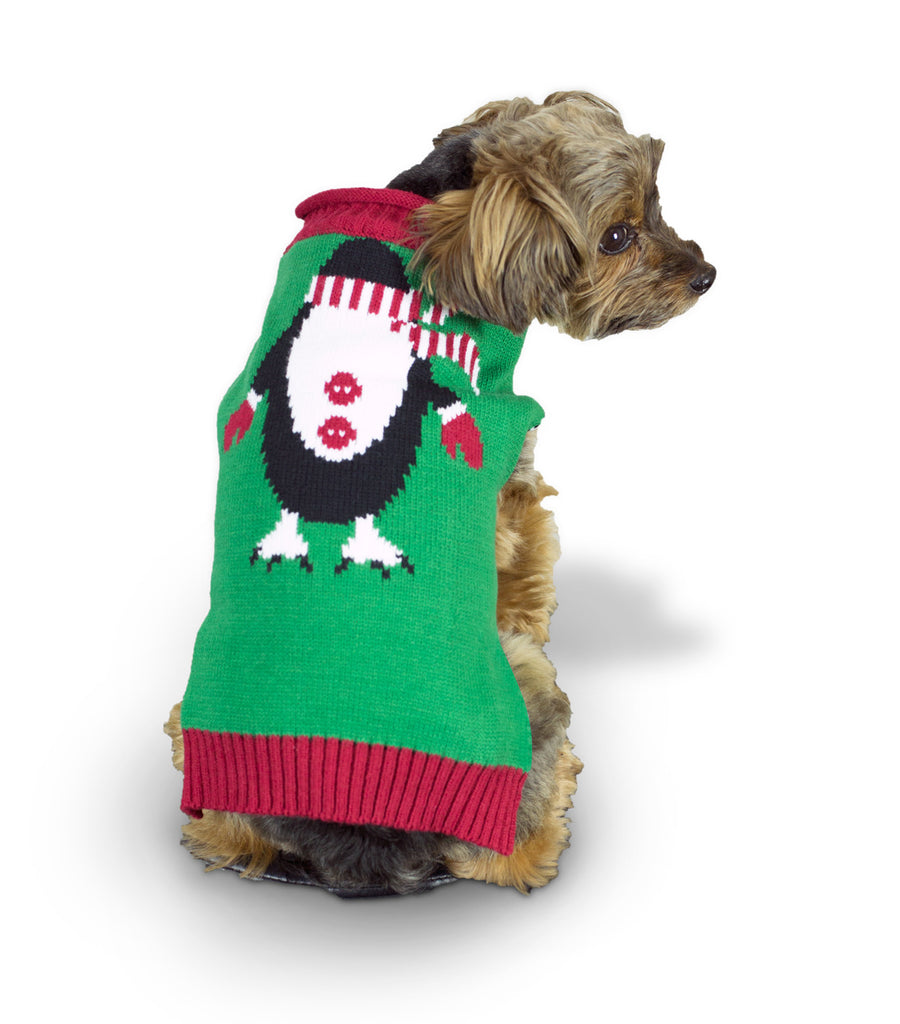 Ugly Christmas Dog Sweater - Penguin