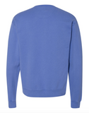 CHOOSE JOY Unisex Pullover - Faded Periwinkle Blue