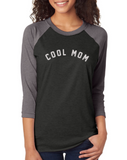COOL MOM Baseball Tee