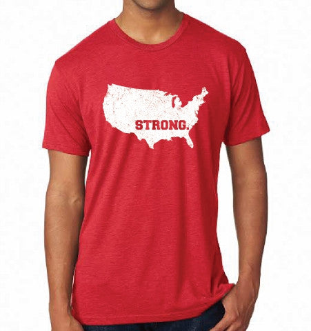U.S.A. STRONG T-Shirt - Red