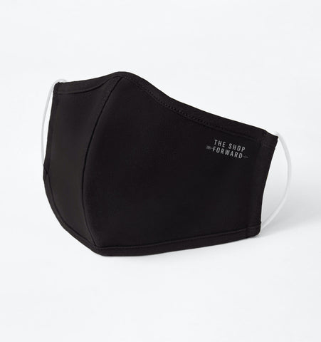 'The Shop Forward' Antimicrobial Black Face Mask
