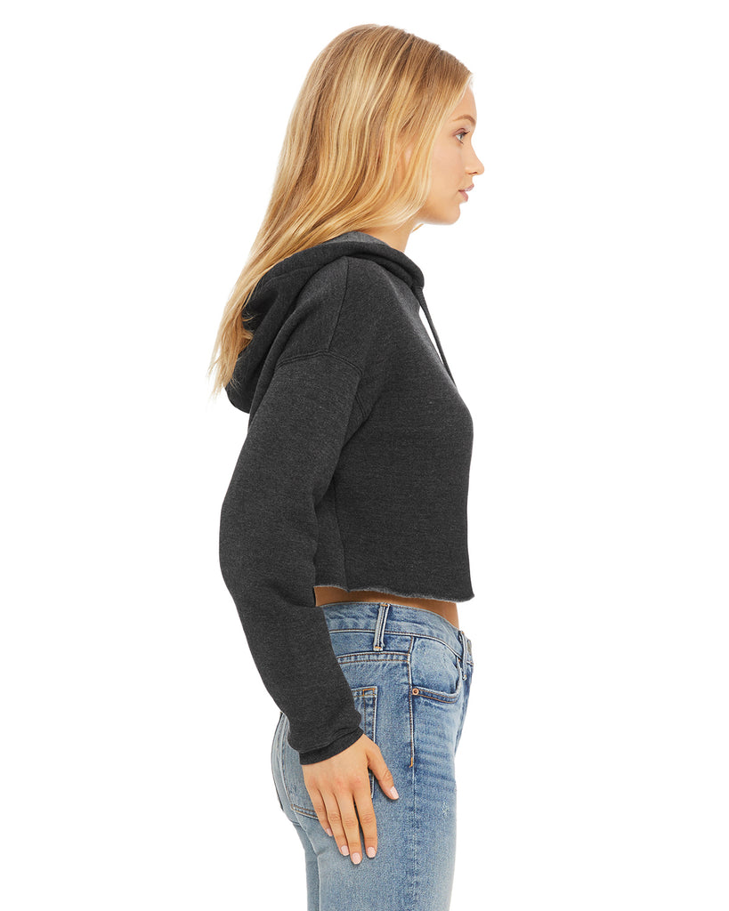 COOL MOM Cropped Fleece Hoodie