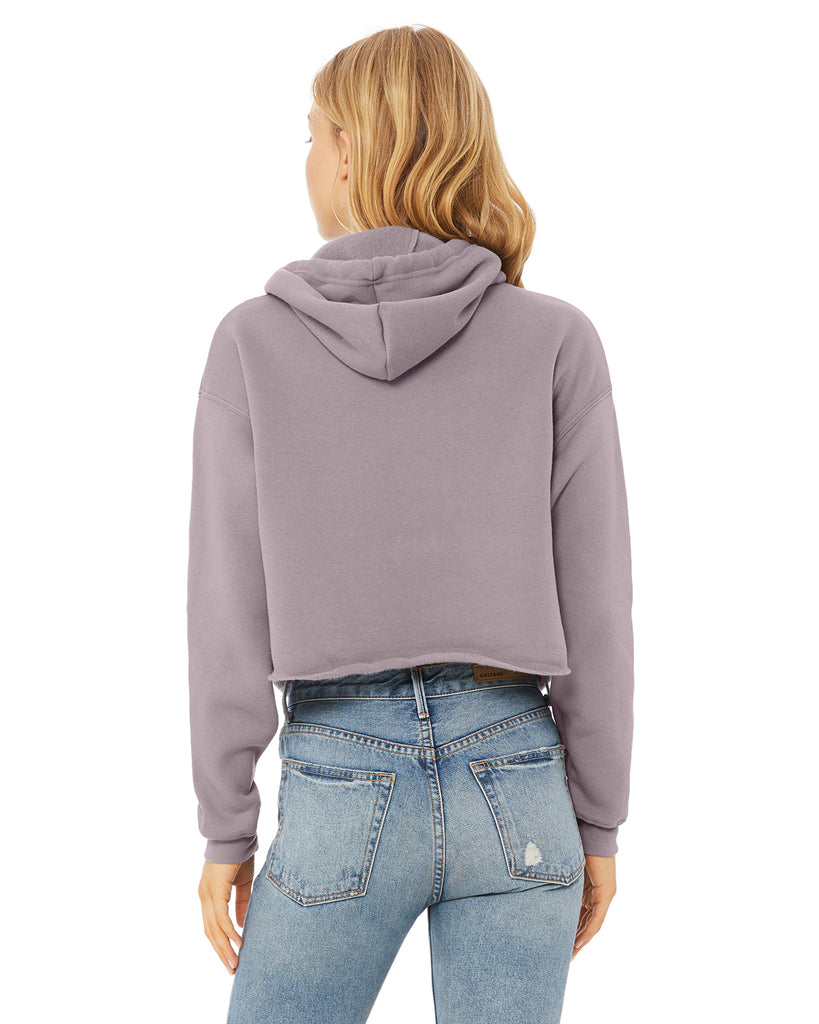 DOG MOM Cropped Hoodie