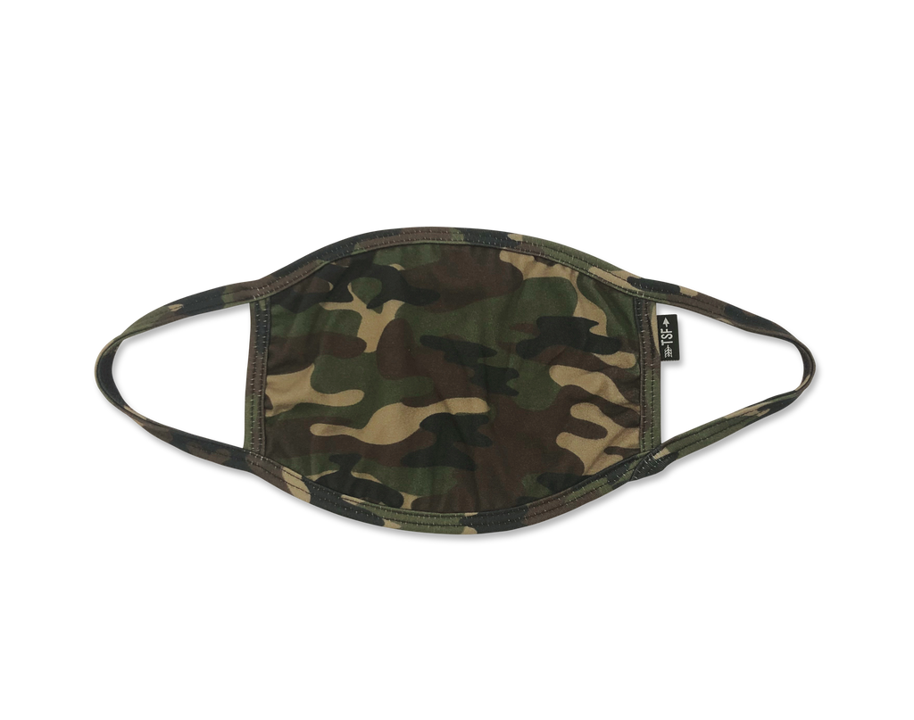 Cloth Face Mask - Camo