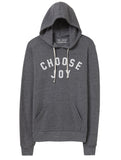 'CHOOSE JOY' Unisex Hoodie - Grey